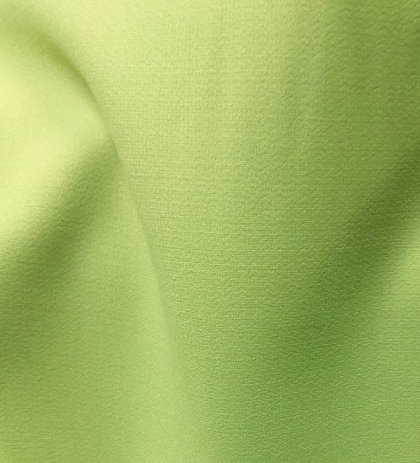 Tissu Ameublement En Crepe De Laine Envers Satin Tissu Vert Au Metre