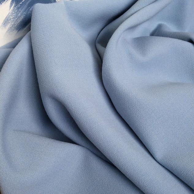 Tissu décoration bleu ciel