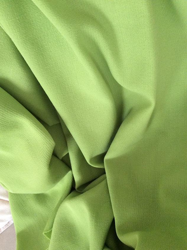tissu vert pomme cardailhac
