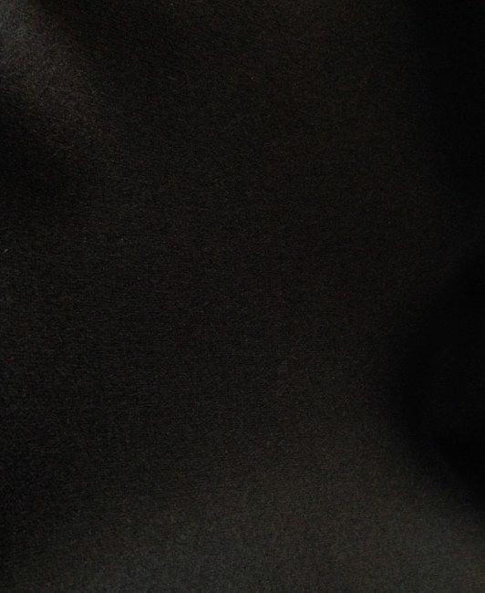 Drap de laine bouillie noir