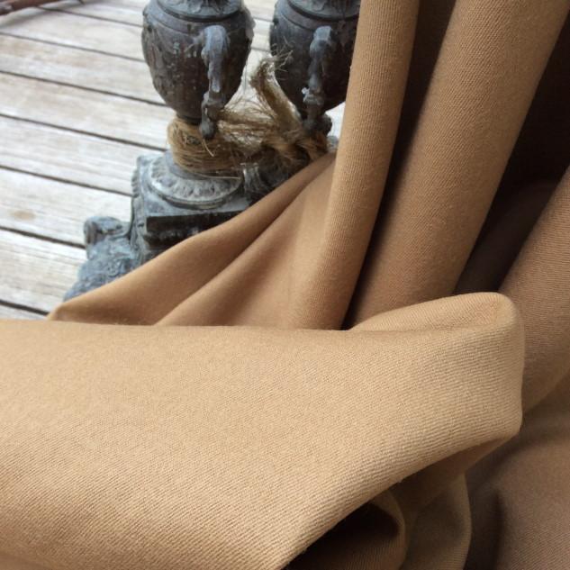 flanelle de laine beige pour ameublement