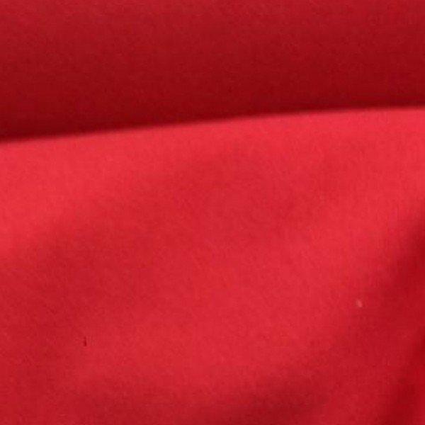 Tissu de laine cachemire bouillie rouge