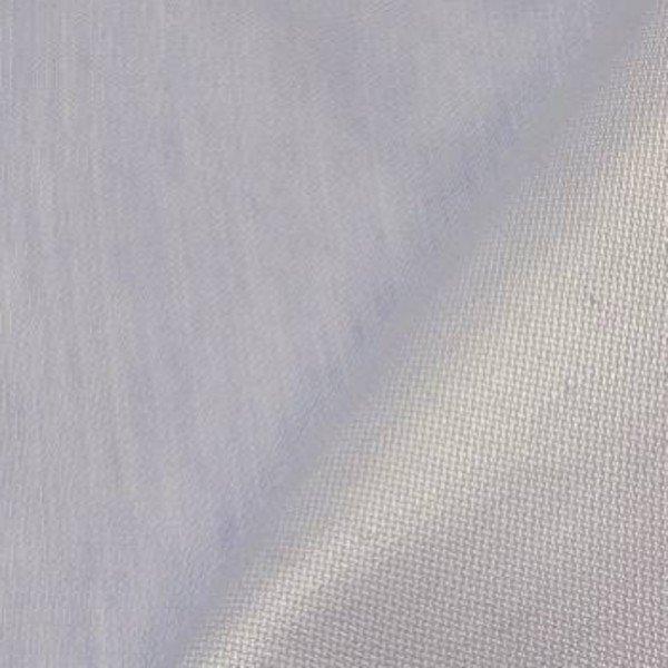 Tissu lin bleu brillant