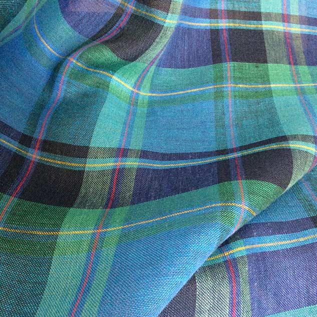 Tissus écossais pour habillement