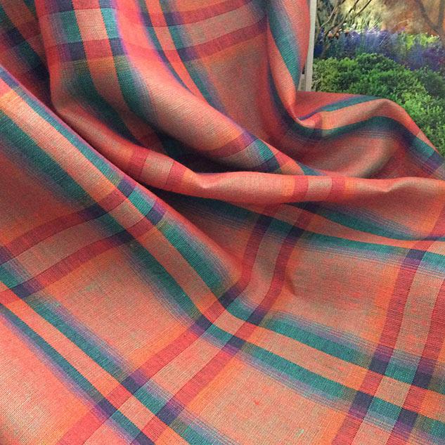 vente de tissu ameublement tissu écossais