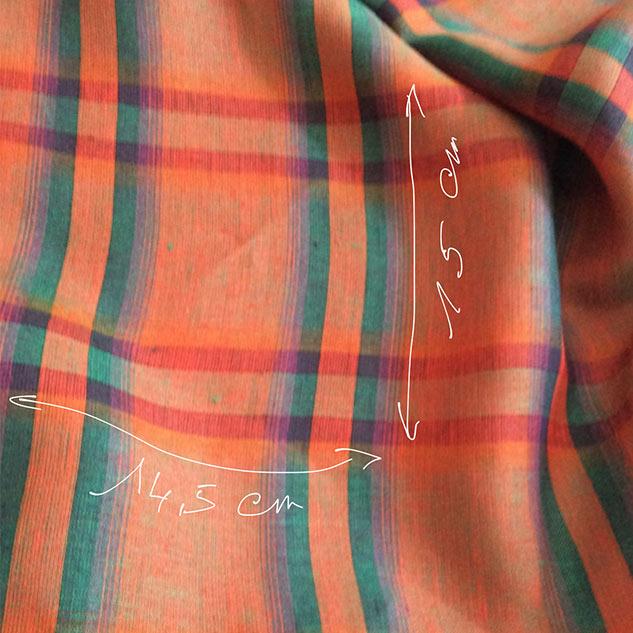 tissu écossais rapport tissu