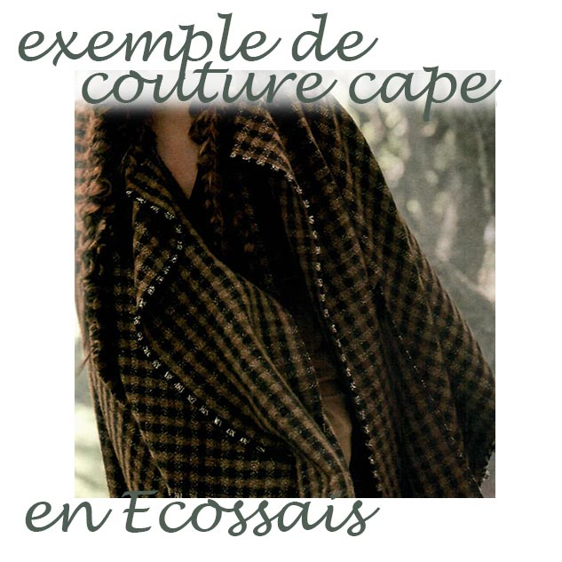 couture cape exemple