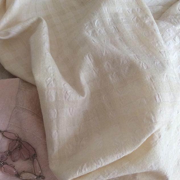tissu écru cardailhac