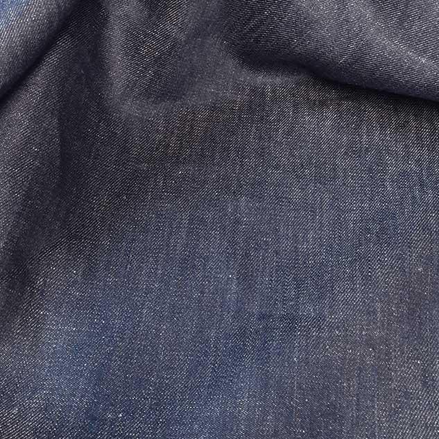 Bâche de lin tissu jean