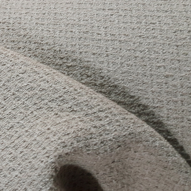Tissu en coton beige