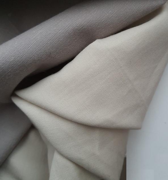 Ticcu en coton et lin sergé beige