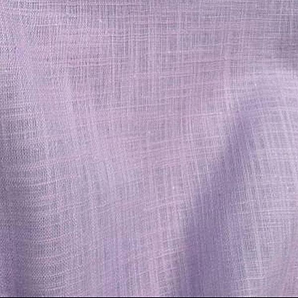 Tissu en coton à effet lin