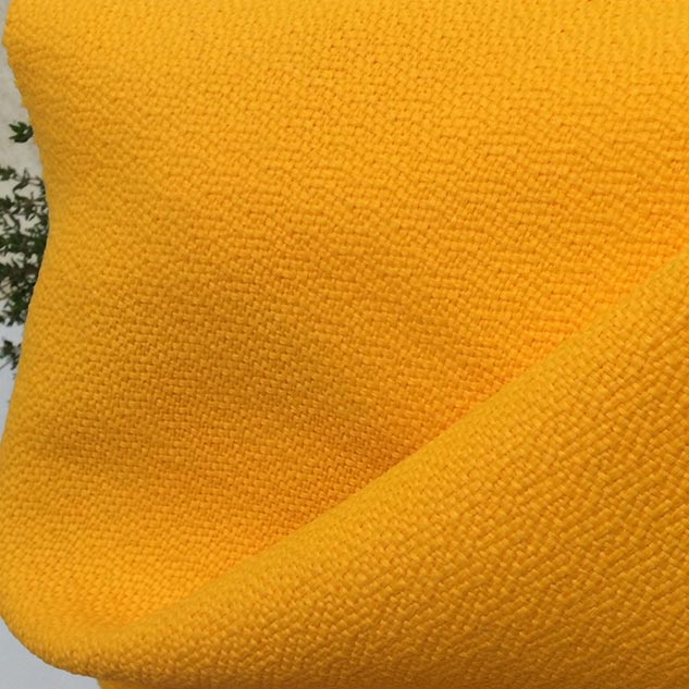 Tissu polypropylène jaune jonquille