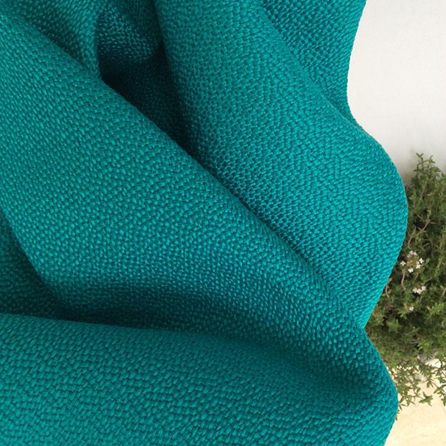 Tissu polypropylène turquoise