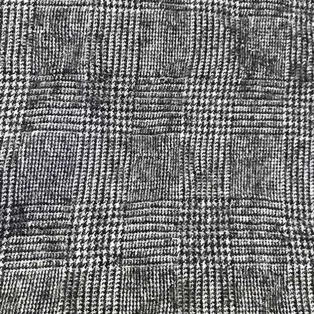 Tissu flanelle de laine prince de galle
