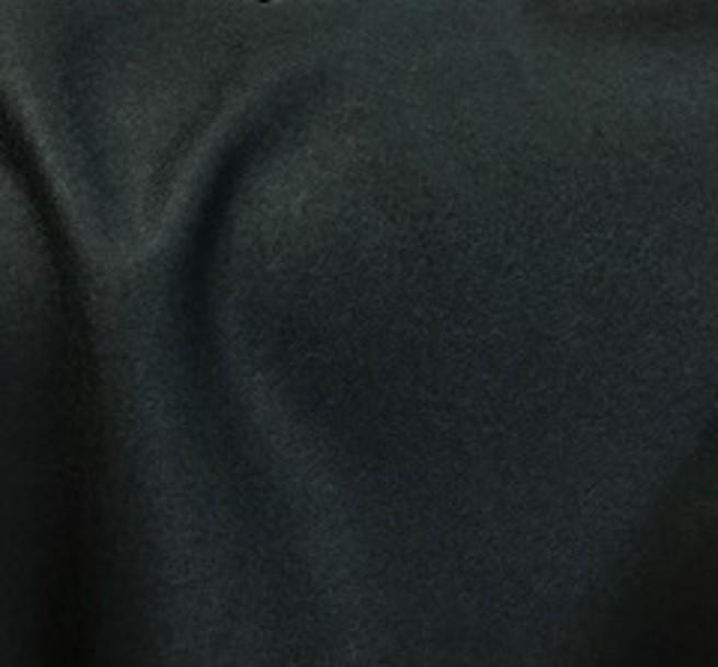 Tissu flanelle de laine peignée vert sapin
