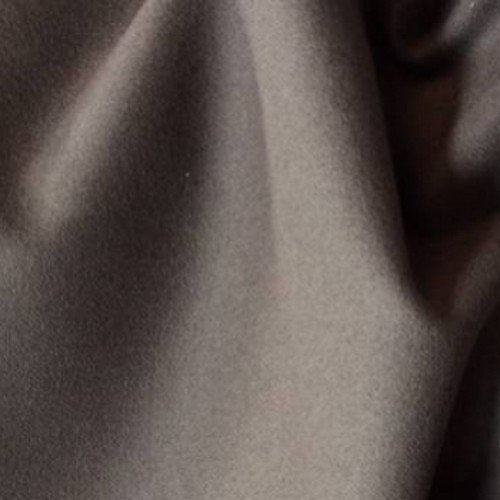 Tissu flanelle de laine taupe