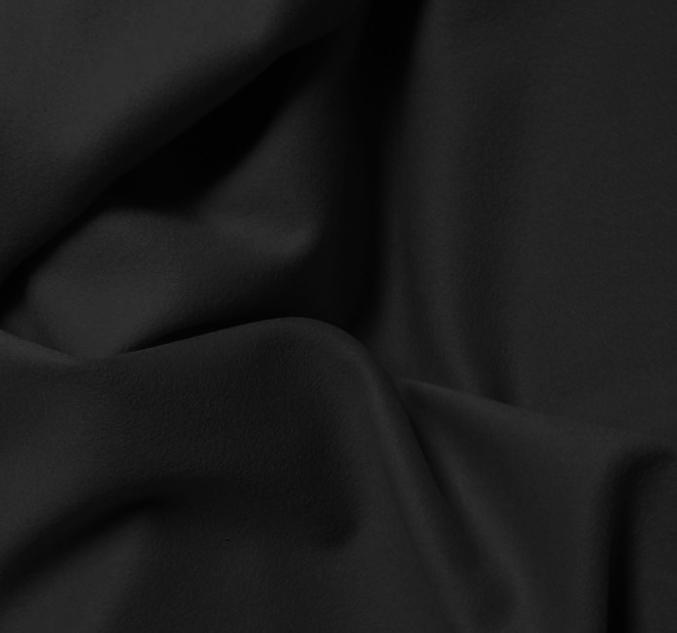 Tissu flanelle noir