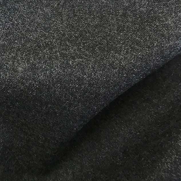 Tissu flanelle au mètre gris