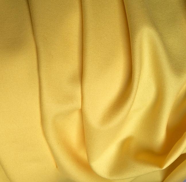 tissu jaune au metre