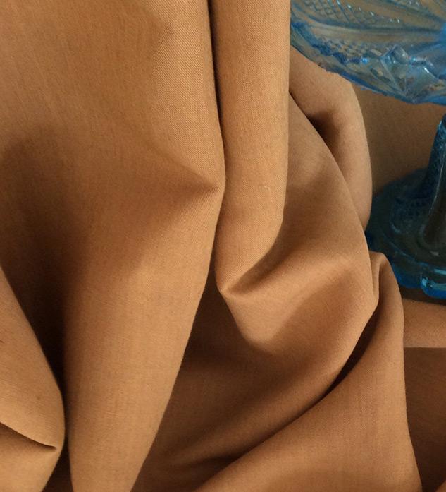 tissu décoration jaune rouille