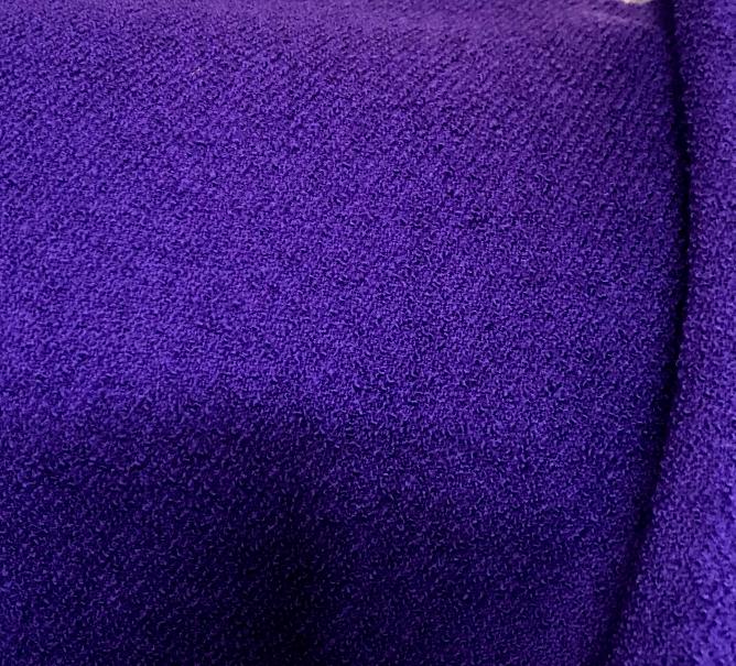 Tissu laine violet Cardailhac