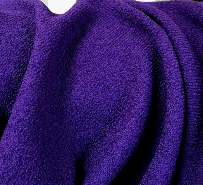 tissu laine violet drap de laine