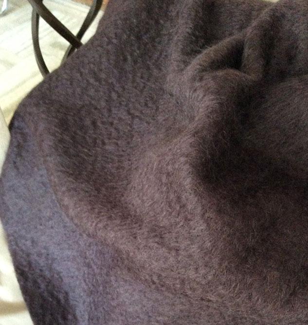 tissu mohair pour plaid
