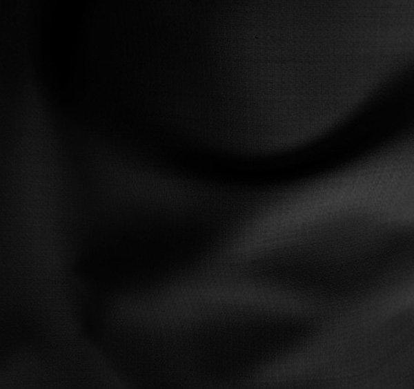 Tissu laine polyester crepe noir, jupes, robes, pantalons, tailleurs