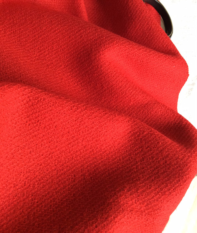 tissu rouge tissu couture