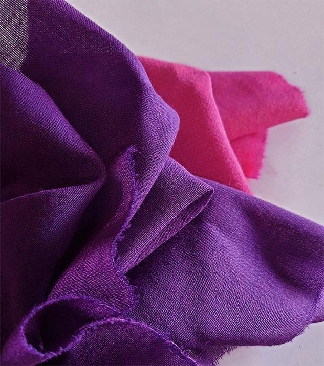 tissu laine voilage