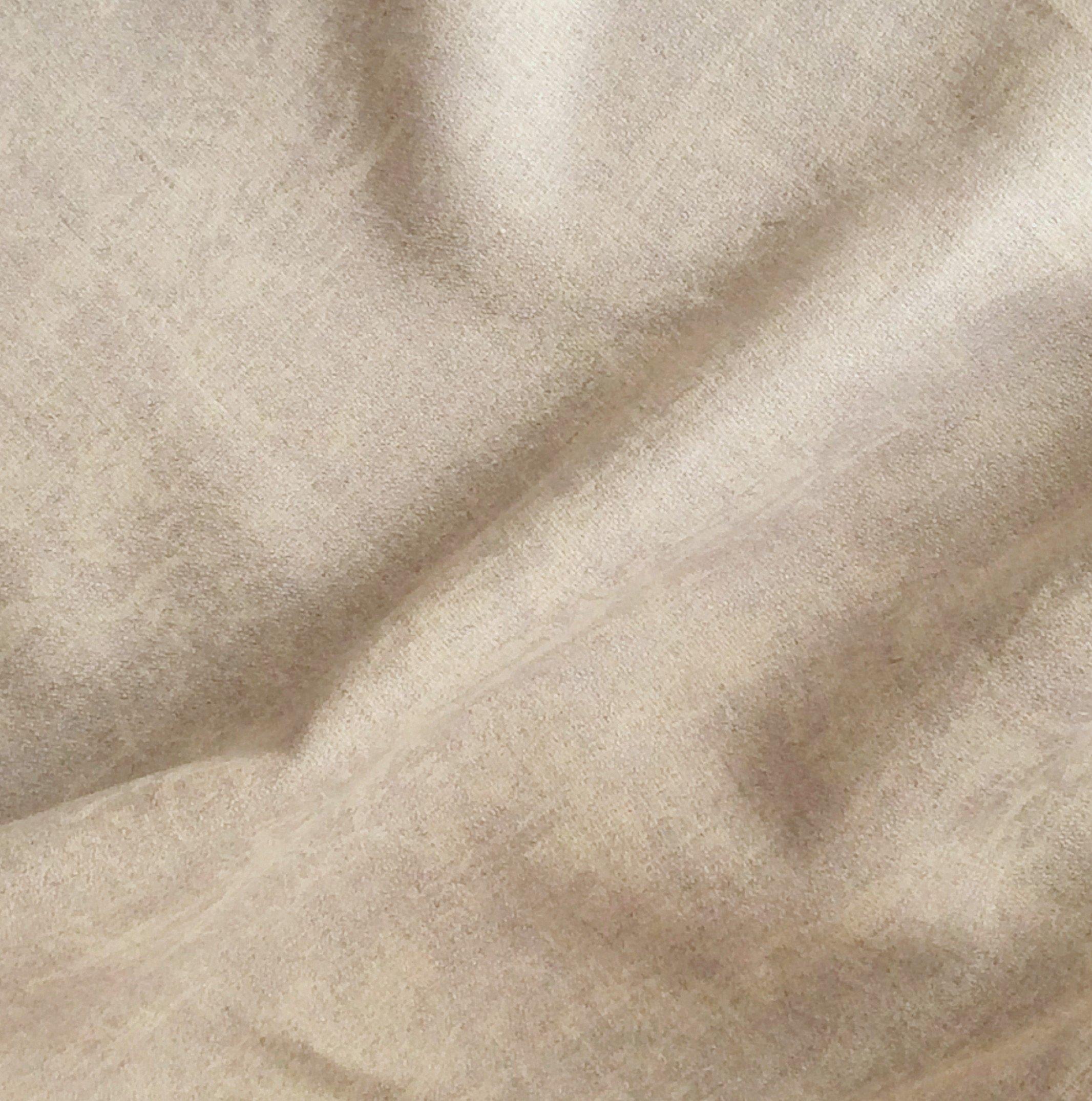 tissu lin beige avec relief