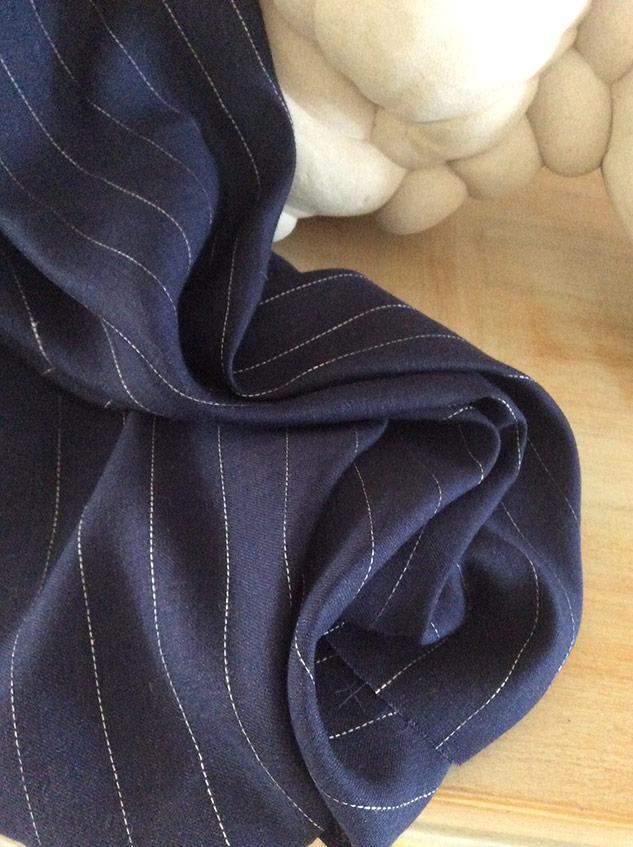 Tissu lin bleu tissus ameublement