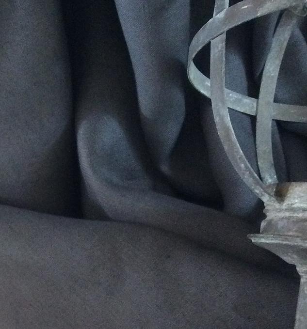 tissu gris Cardailhac