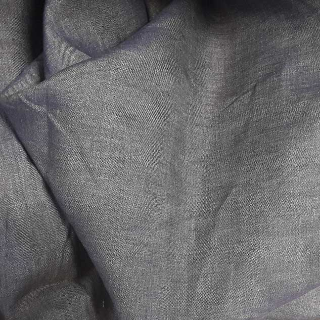 tissu lin effet jean