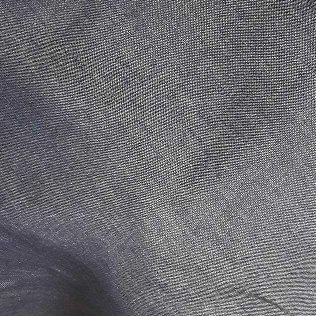 Tissu en toile de lin effet jean