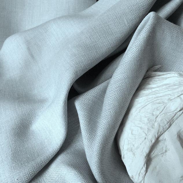 tissu petits chevrons