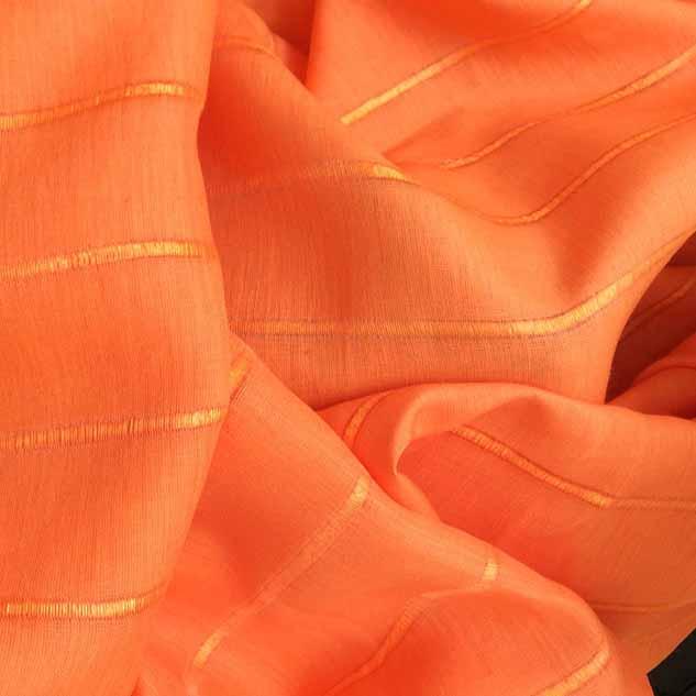 Tissu lin tissu à rayures