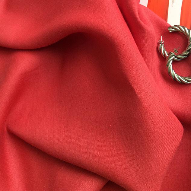 tissu rouge cardailhac