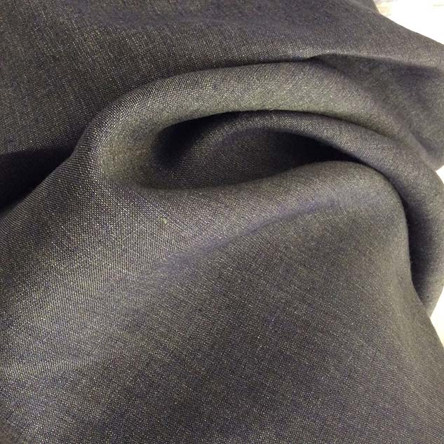 Tissu changeant gris marine vert