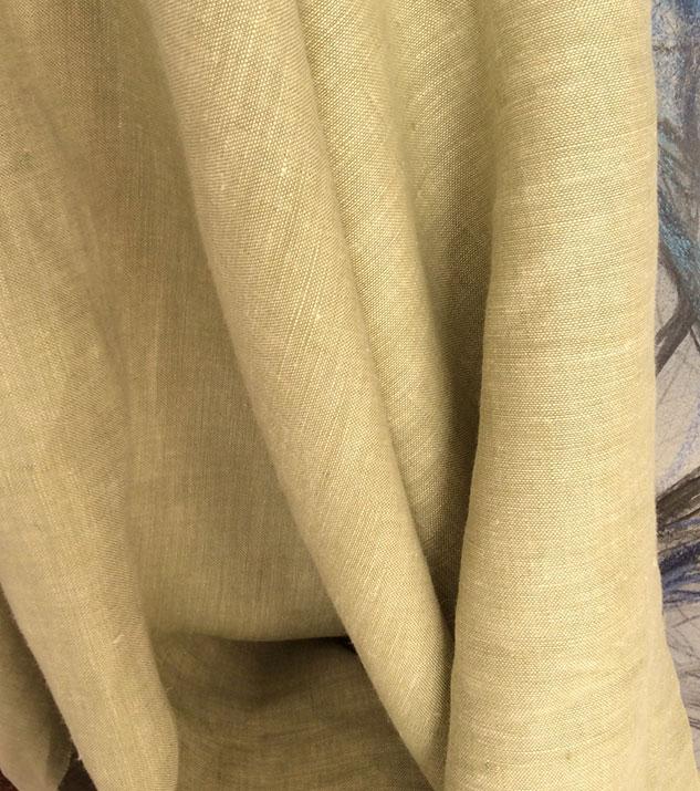 bâche de tissu chiné