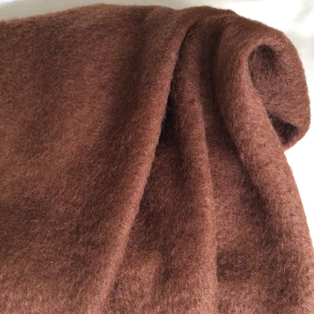 tissu mohair et laine de qualité- made in france