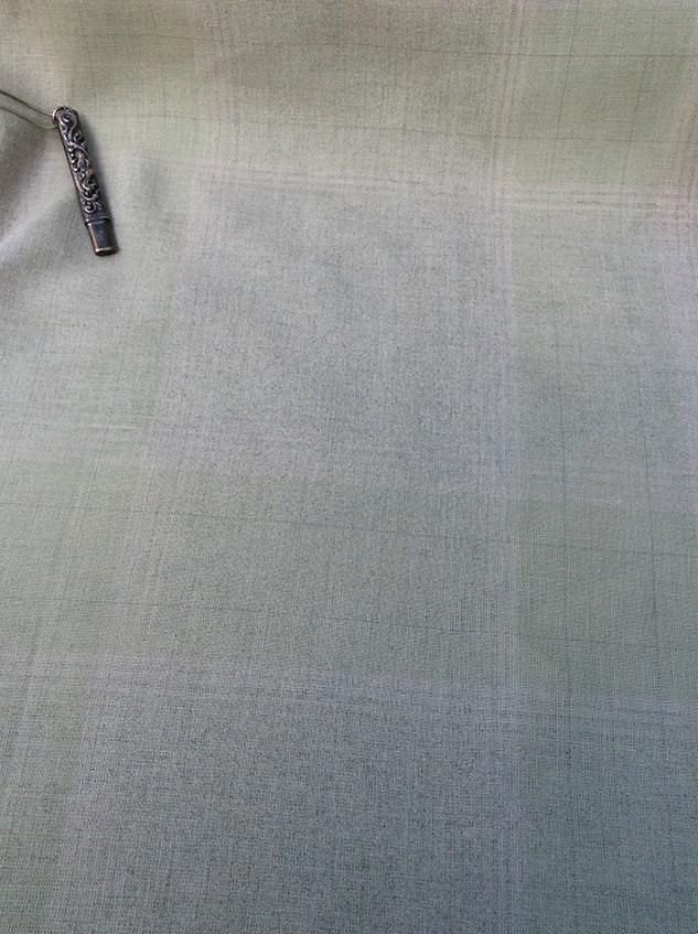 tissu carreaux beige rosé cardailhac