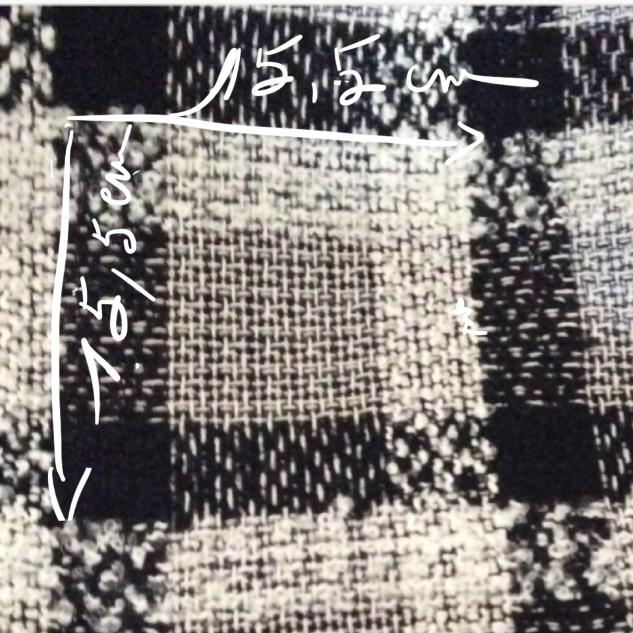 tweed a carreaux