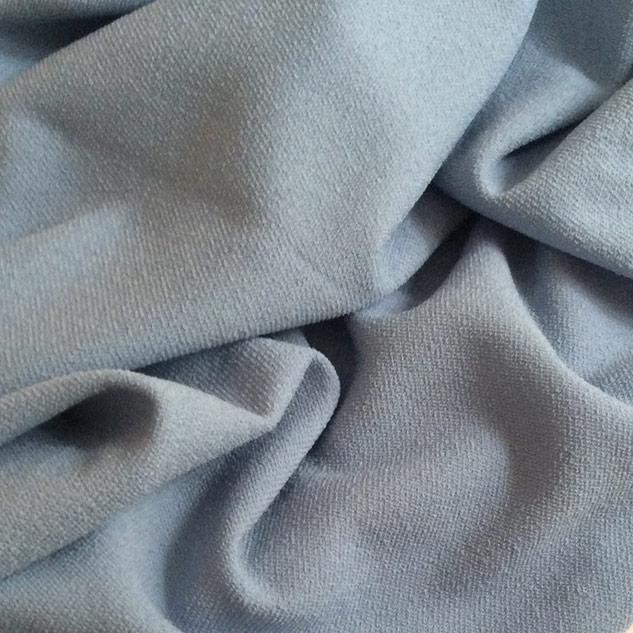 tissu bleu effet tweed