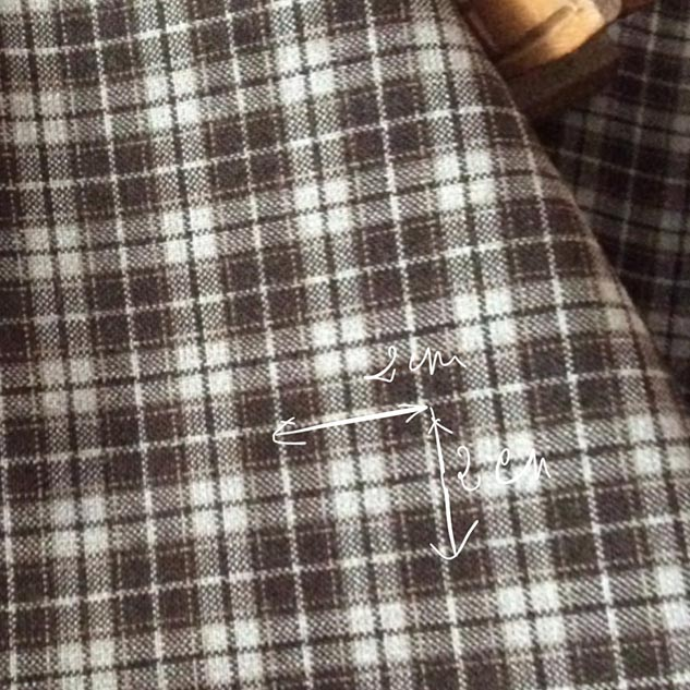 Tissu petits carreaux tissu au metre