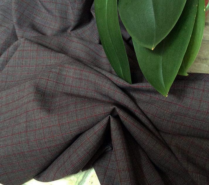 Tissu polyester laine Prince de Galles