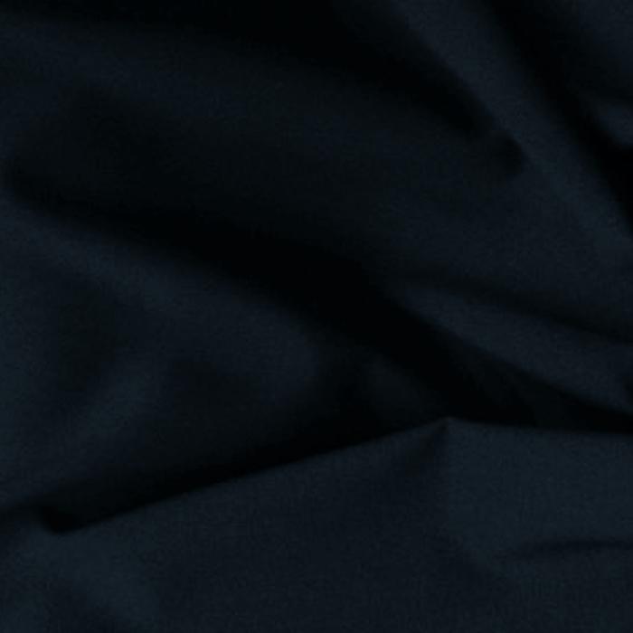 Tissu habillement polyester laine extensible uni marine pour robes, jupes, pantalons