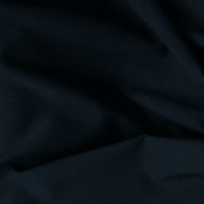 Tissu au metre polyester laine uni marine extensible