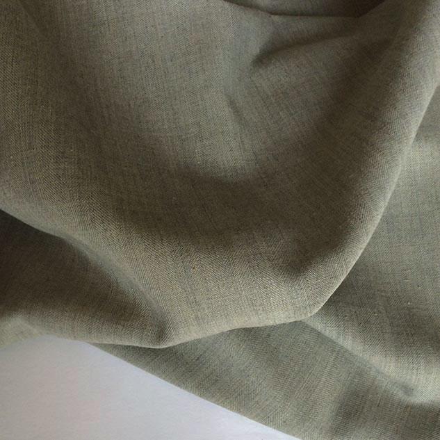 Tissu polyester gris acier